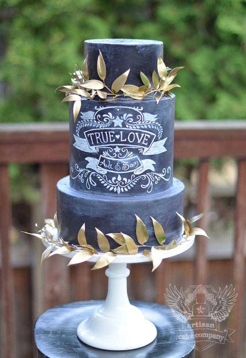 Artisan Cake Company : Chalkboard Cakes Artisan Cake Company