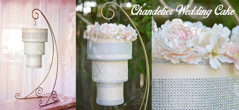 How to Make a Chandelier Cake – Cake Chandelier