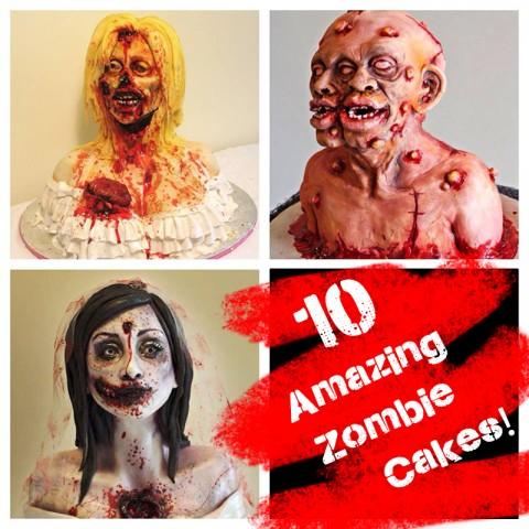10 Amazing Zombie Cakes