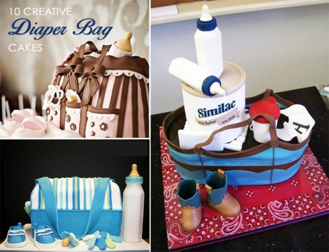 The Best Diaper Bag Cakes