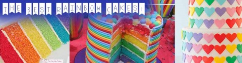 10 Rainbow Cakes That I Love!