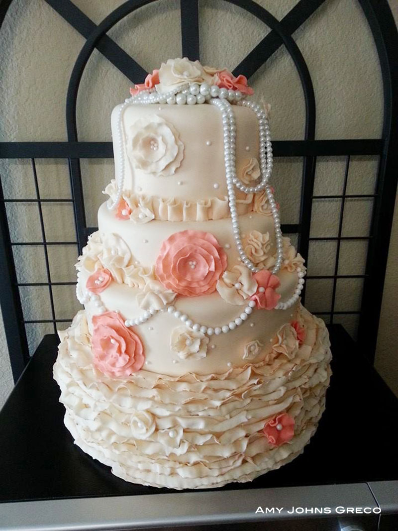 10 Beautiful Vintage Wedding Cake Designs Artisan Cake Company