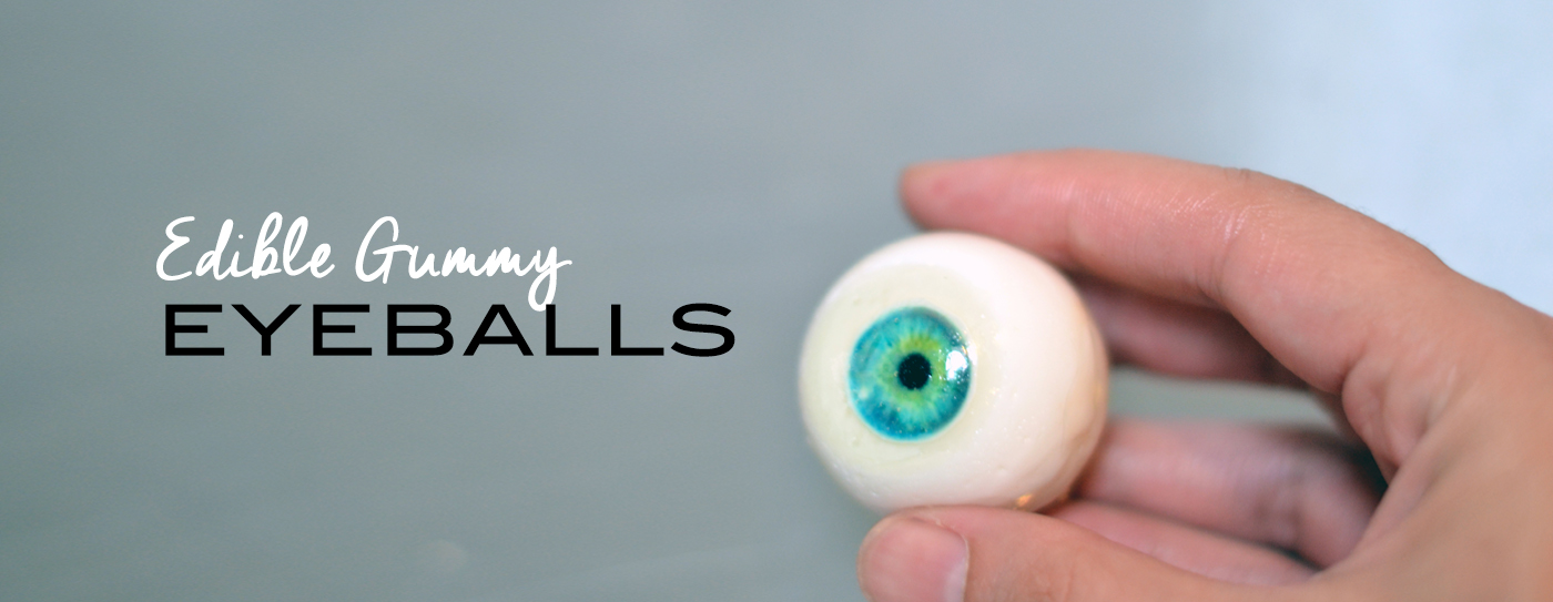 Gummy Eyeball Tutorial Artisan Cake Company