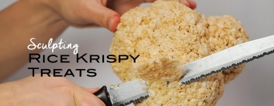 How To Sculpt Rice Krispy Treats
