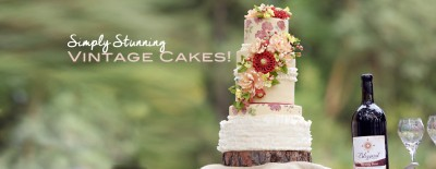 10 Beautiful Vintage Wedding Cake Designs