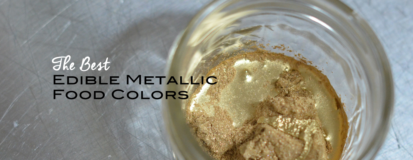 How To Make Metallic Gold Food Coloring