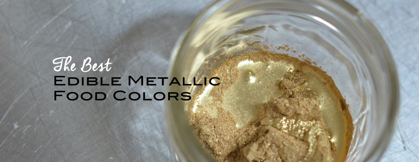 The Best Edible Metallic Food Colors | Artisan Cake Company