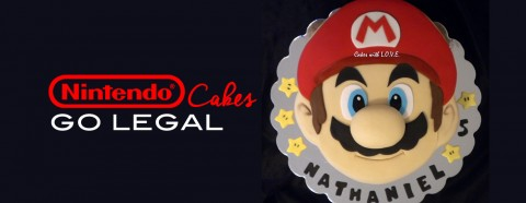 Nintendo Makes it Legal to Make Character Cakes