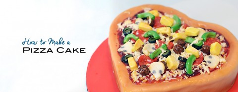 Pizza Cake Tutorial
