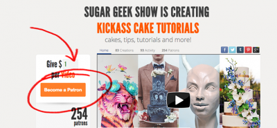 Sugar Geek Show on Patreon