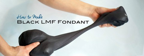 How to make Black LMF Fondant