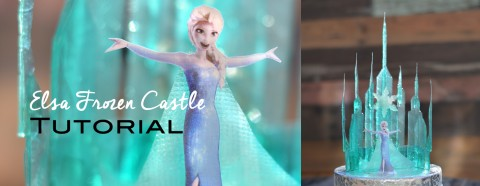 Elsa Frozen Castle Tutorial