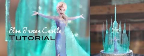 Elsa Frozen Castle Tutorial