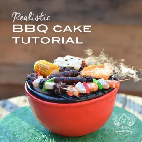 BBQ Cake Tutorial