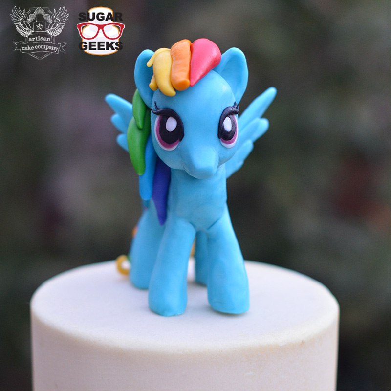 How To Make My Little Pony Cake Topper