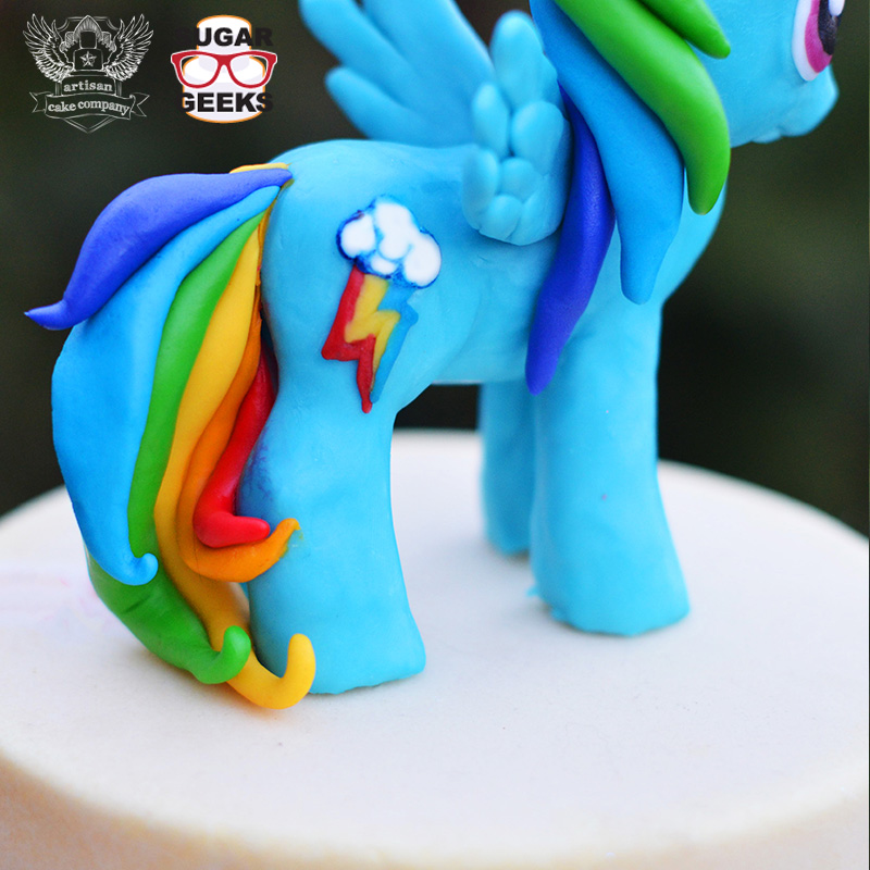 My Little Pony Cake Topper Tutorial Artisan Cake Company