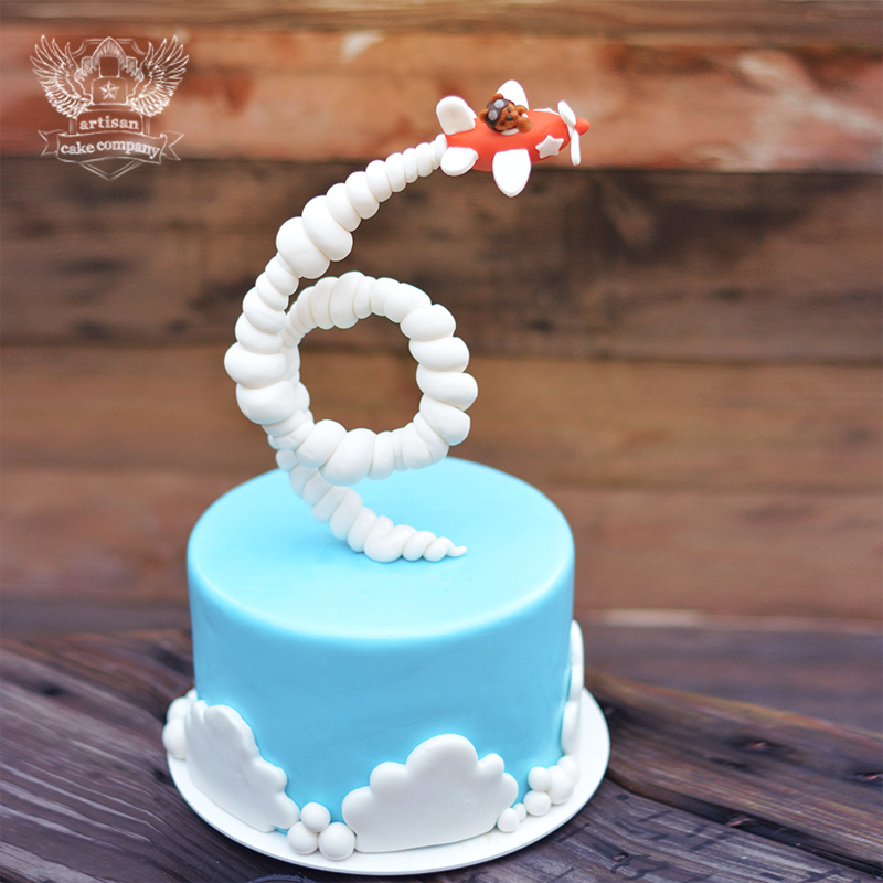 Gravity Defying Airplane Cake Tutorial Artisan Cake Company