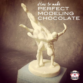 How to make perfect modeling chocolate