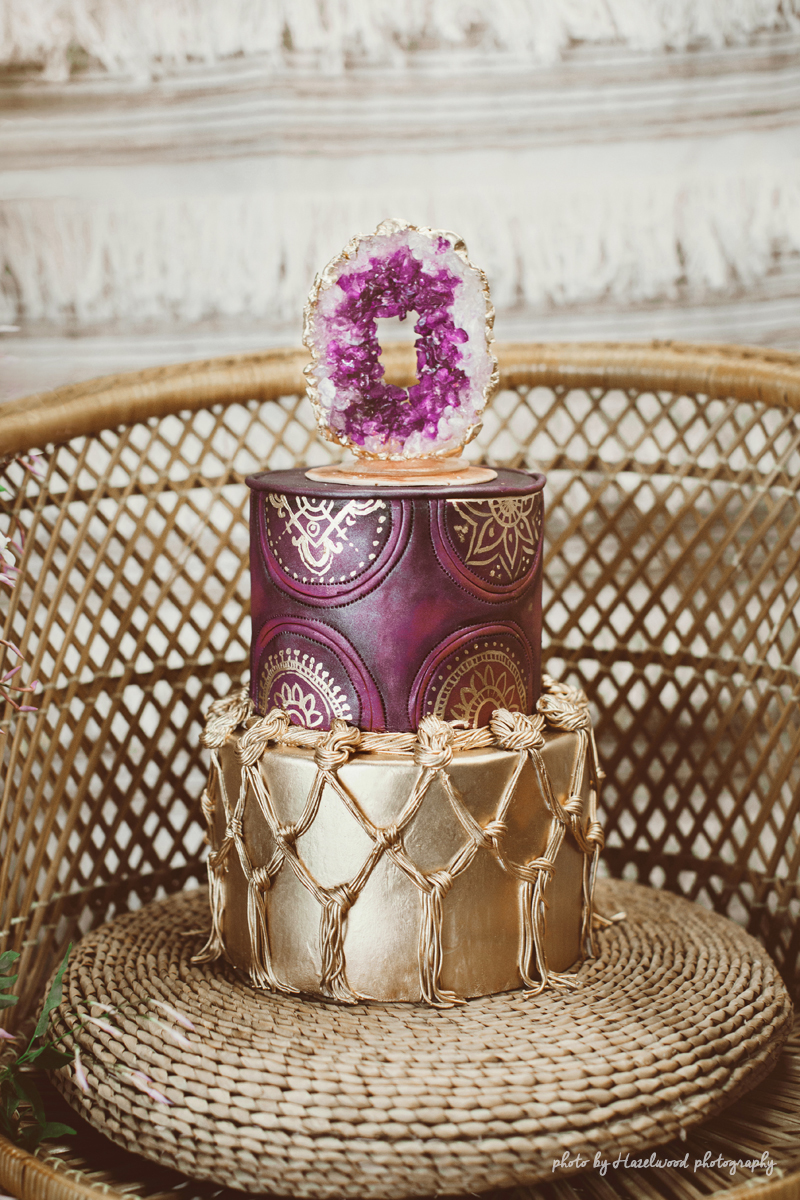 Artisan Cake Company : Rock Candy Geode Cake Artisan Cake Company