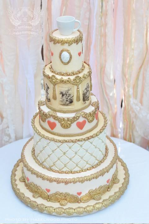Wedding cakes artisan cake company gallery image junglespirit Gallery