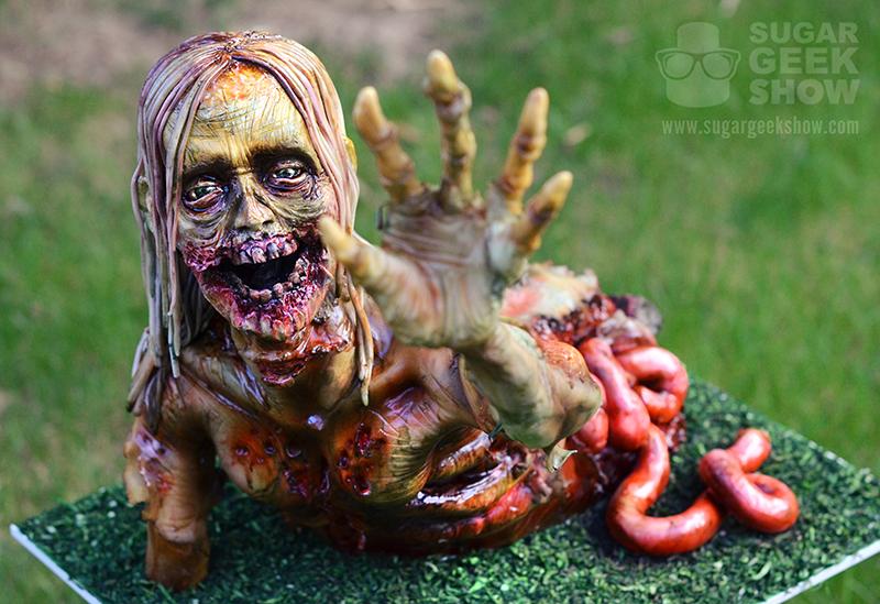 Walker Zombie Cake Tutorial Artisan Cake Company