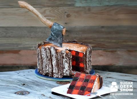 The First Lumberjack Cake